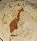 Aphrodite sur son Cygne