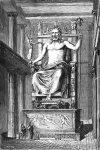 La statue de Zeus qui est l'une des 7 merveilles du monde